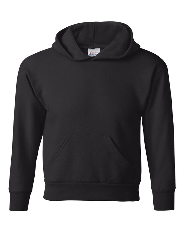 Ecosmart Youth Hooded Sweatshirt-Hanes-Pacific Brandwear