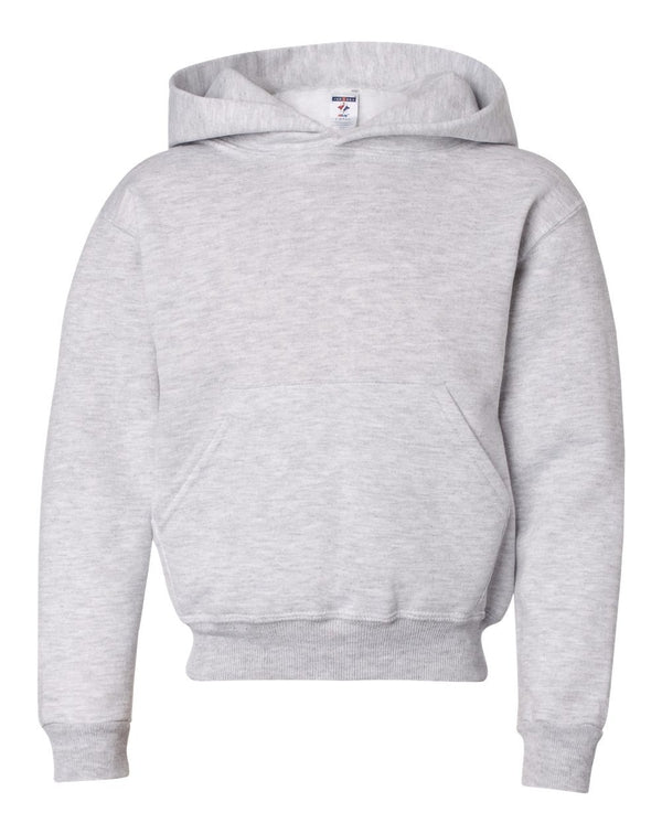 NuBlend Youth Hooded Sweatshirt-JERZEES-Pacific Brandwear