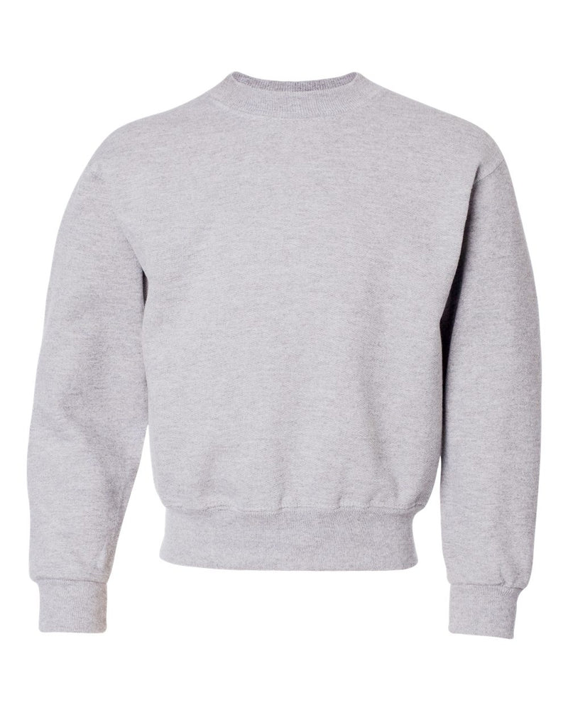 NuBlend Youth Crewneck Sweatshirt-JERZEES-Pacific Brandwear