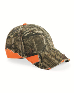 Frayed Camo Cap-Outdoor Cap-Pacific Brandwear