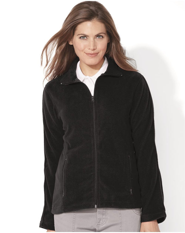 Women's Microfleece Full-Zip Jacket-FeatherLite-Pacific Brandwear