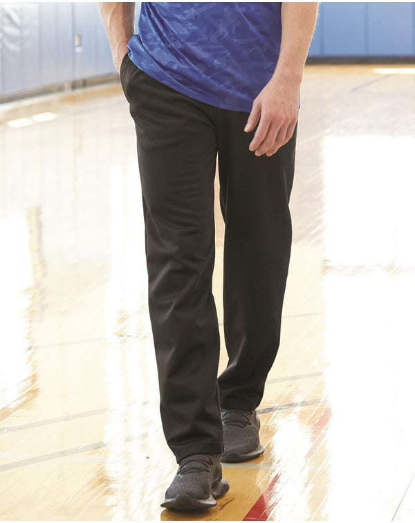 Performance Fleece Open-Bottom Sweatpants-Badger-Pacific Brandwear