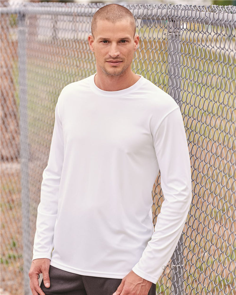 Double Dry Performance Long sleeve T-Shirt-Champion-Pacific Brandwear