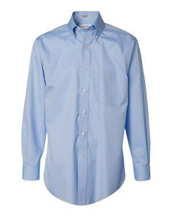 Non-Iron Pinpoint Oxford Shirt-Van Heusen-Pacific Brandwear