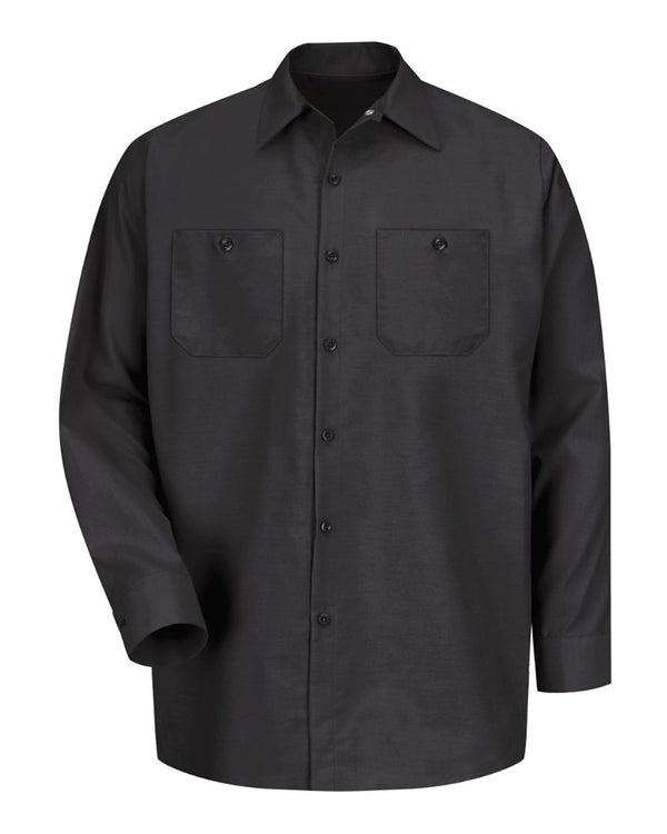 Industrial Long sleeve Work Shirt-Red Kap-Pacific Brandwear