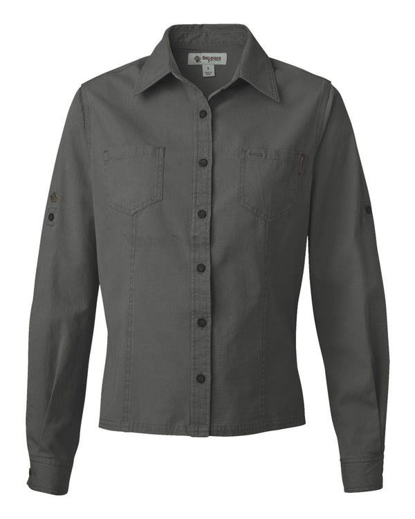 Sawtooth Collection Women's Mortar Long sleeve Shirt-DRI DUCK-Pacific Brandwear