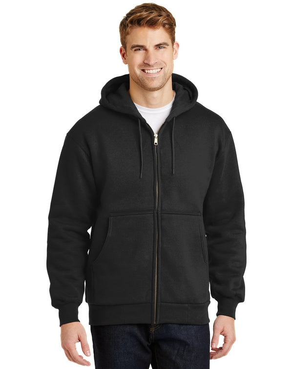 CornerStoneå¨ - Heavyweight Full-Zip Hooded Sweatshirt with Thermal Lining-CornerStone-Pacific Brandwear