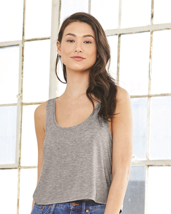 Women's Flowy Boxy Tank-BELLA + CANVAS-Pacific Brandwear