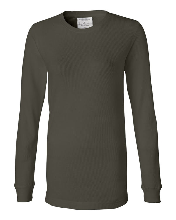 Women's Cortney Long sleeve Thermal T-Shirt-J. America-Pacific Brandwear