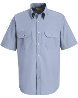 Deluxe Short sleeve Uniform Shirt-Red Kap-Pacific Brandwear