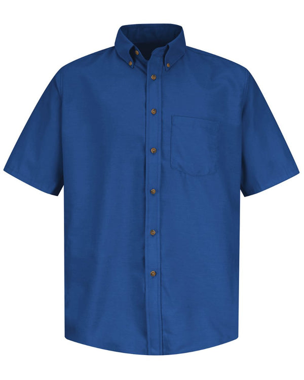 Poplin Short sleeve Dress Shirt-Red Kap-Pacific Brandwear
