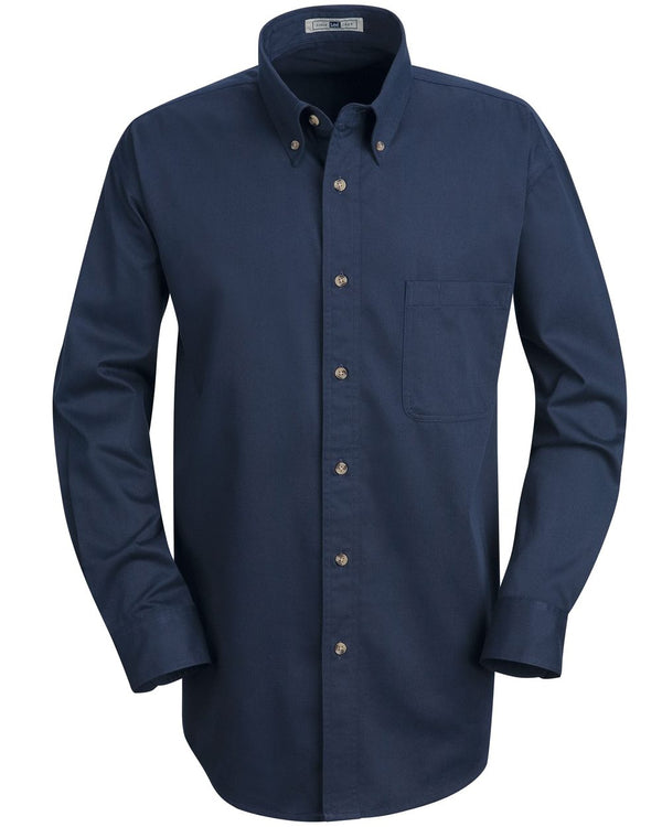 Meridian Long sleeve Performance Twill Shirt-Red Kap-Pacific Brandwear