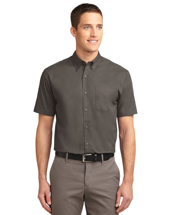 Port Authority® Short Sleeve Easy Care Shirt-Port Authority-Pacific Brandwear
