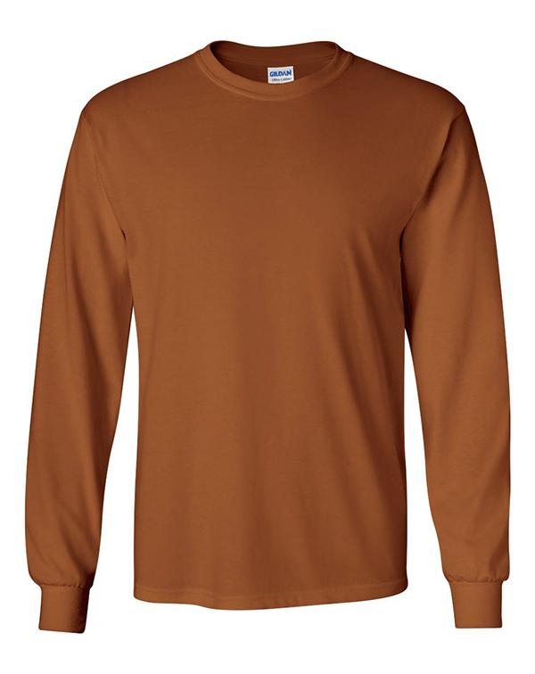 Gildan Ultra Cotton® Long Sleeve Tee-Gildan-Pacific Brandwear
