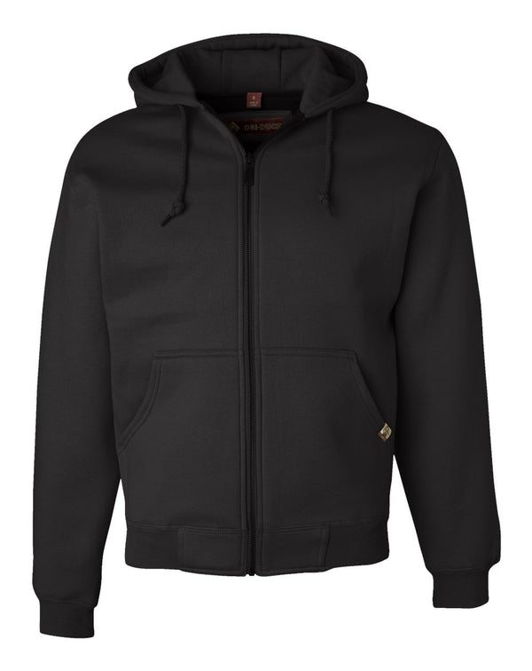 Crossfire Heavyweight Power Fleece Jacket with Thermal Lining-DRI DUCK-Pacific Brandwear