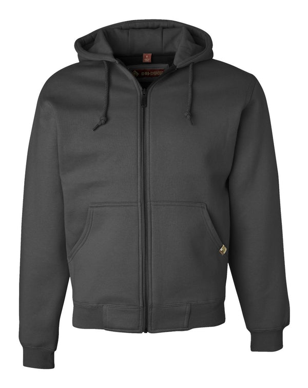 Crossfire Heavyweight Power Fleece Jacket with Thermal Lining Tall Sizes-DRI DUCK-Pacific Brandwear