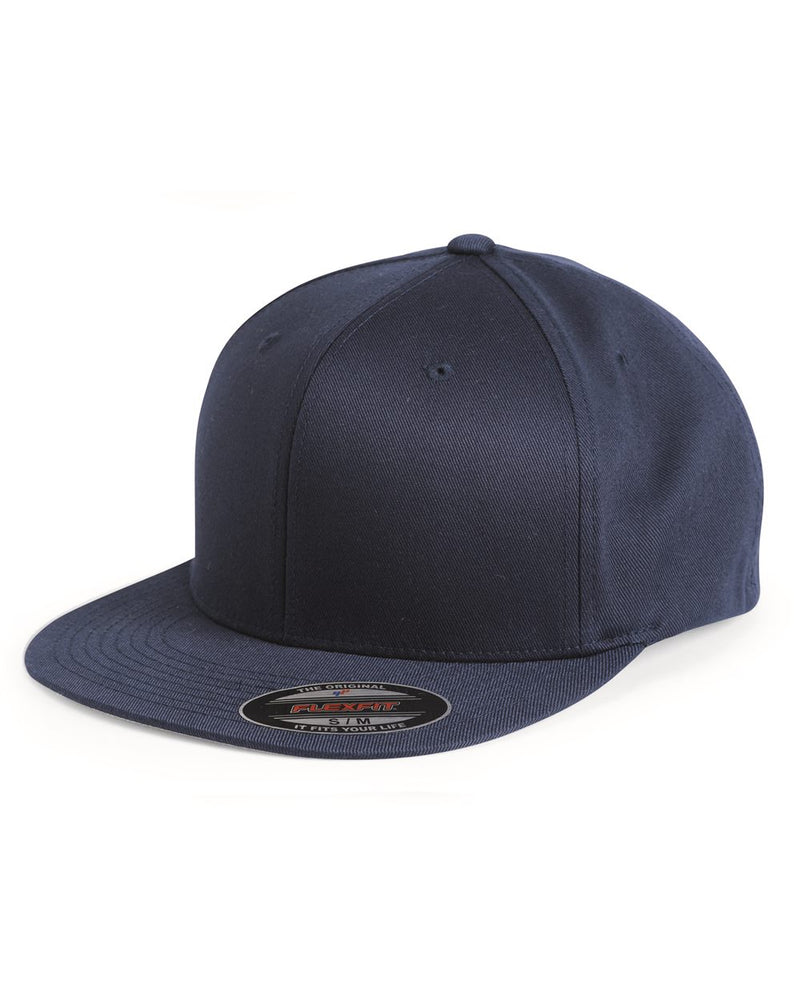 Pro-Baseball On Field Flat Bill Cap-Flexfit-Pacific Brandwear