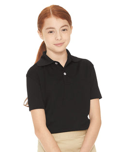 Youth Moisture Free Mesh Sport Shirt-FeatherLite-Pacific Brandwear