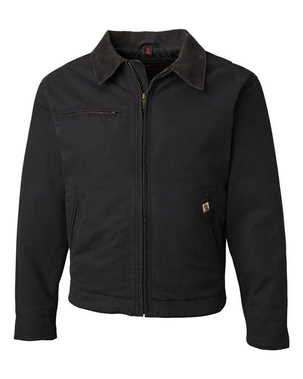 Outlaw Boulder Cloth Jacket with Corduroy Collar-DRI DUCK-Pacific Brandwear