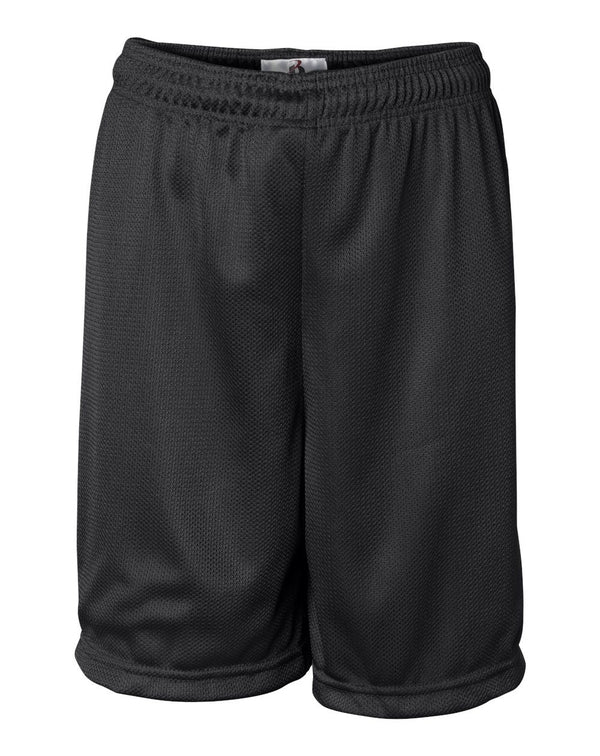 Youth Mini Mesh 6'' Inseam Shorts-Badger-Pacific Brandwear