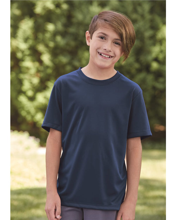 Cool Dri Youth Performance Short sleeve T-Shirt-Hanes-Pacific Brandwear