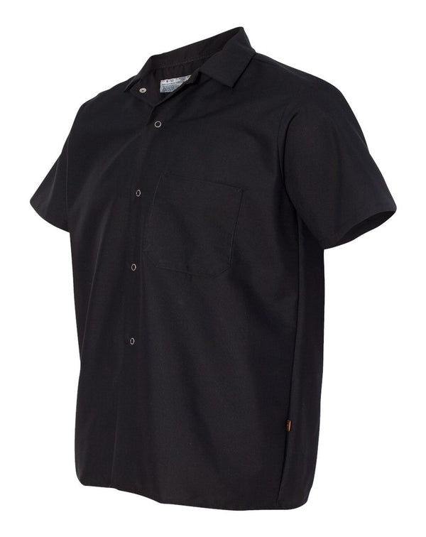 Chef Designs Poplin Cook Shirt with Gripper Closures-Chef Designs-Pacific Brandwear