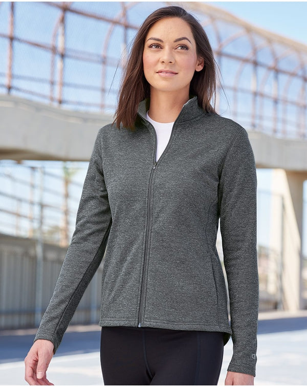 Women's Performance Full-Zip Jacket-Champion-Pacific Brandwear