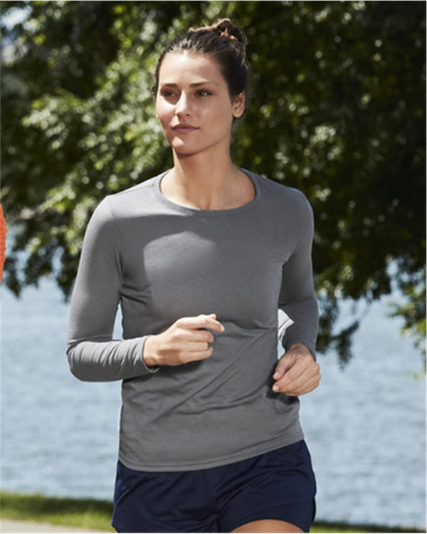 Performance Women's Long sleeve T-Shirt-Gildan-Pacific Brandwear