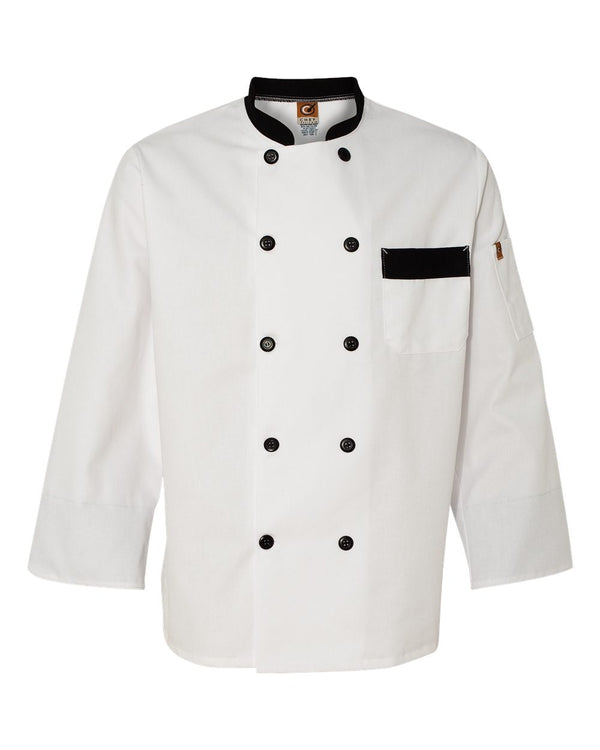 Garnish Chef Coat-Chef Designs-Pacific Brandwear
