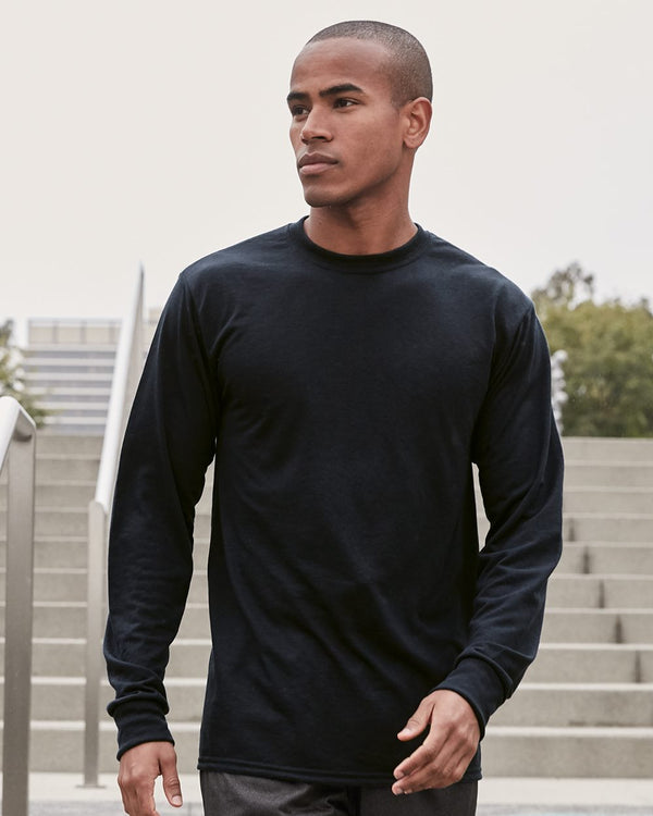 Dri-Power Performance Long sleeve T-Shirt-JERZEES-Pacific Brandwear