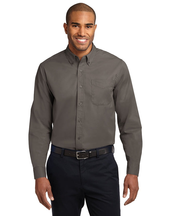 Port Authority® Long Sleeve Easy Care Shirt-Port Authority-Pacific Brandwear