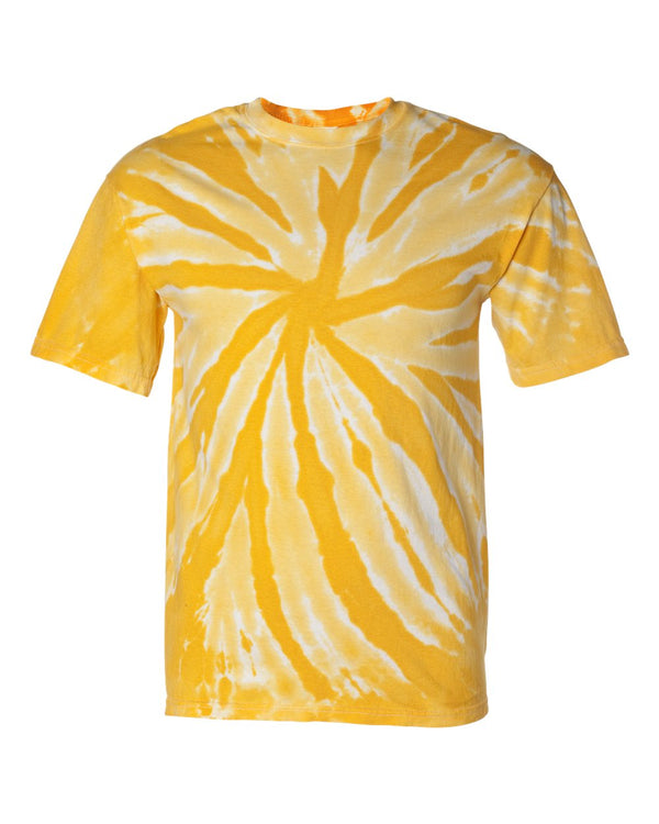 Tone-on-Tone Pinwheel Short sleeve T-Shirt-Dyenomite-Pacific Brandwear