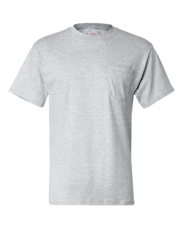 Beefy-T Short sleeve Pocket T-Shirt-Hanes-Pacific Brandwear