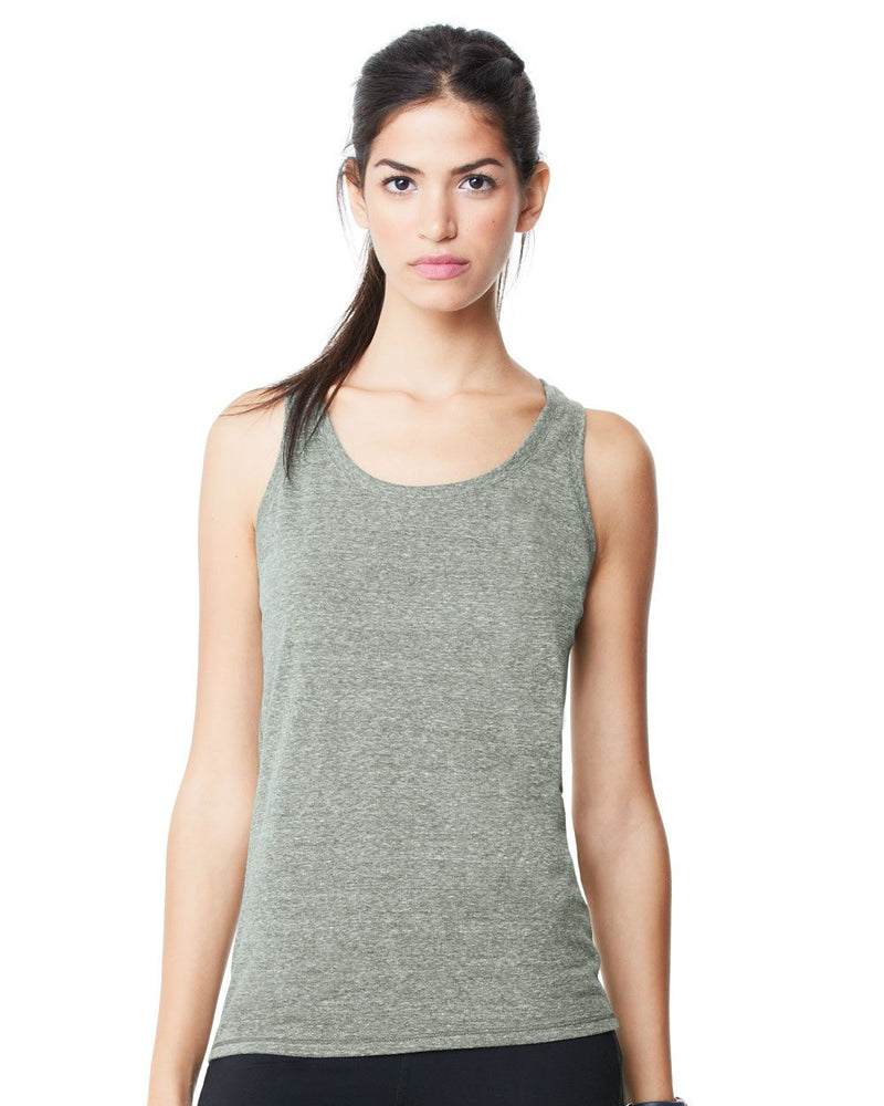 Women's Triblend Racerback Tank-All Sport-Pacific Brandwear