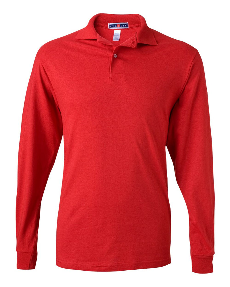 SpotShield 50/50 Long sleeve Sport Shirt-JERZEES-Pacific Brandwear