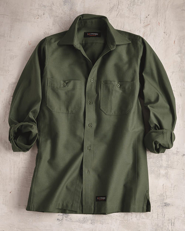 Long sleeve Work Shirt-Wrangler-Pacific Brandwear