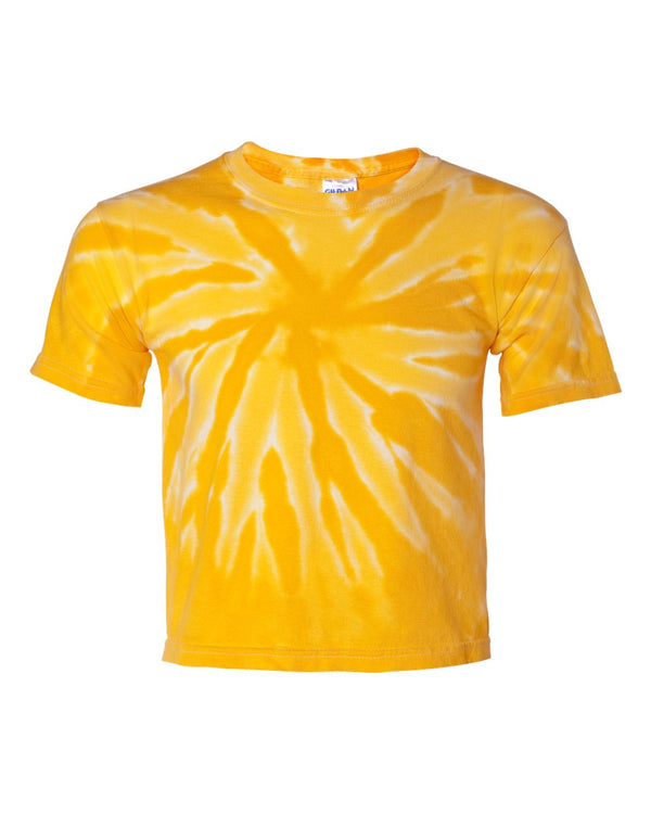 Youth Tone-on-Tone Pinwheel Short sleeve T-Shirt-Dyenomite-Pacific Brandwear