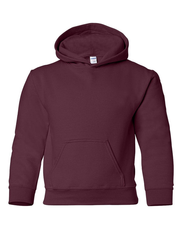 Heavy Blend Youth Hooded Sweatshirt-Gildan-Pacific Brandwear