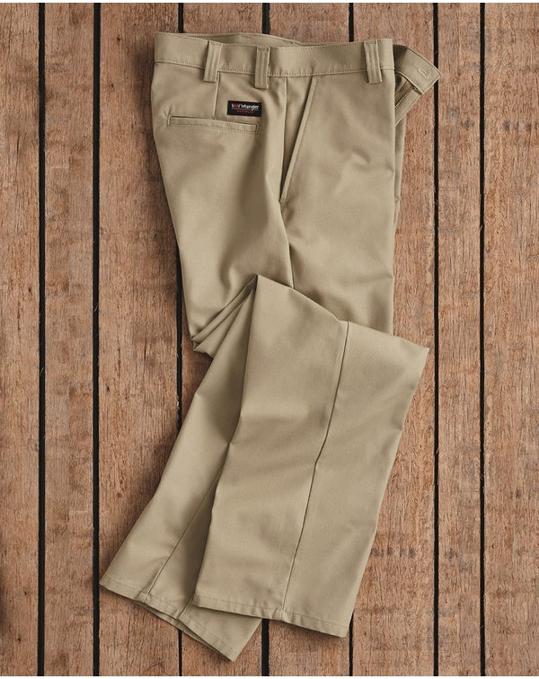 Plain Front Work Pants-Wrangler-Pacific Brandwear