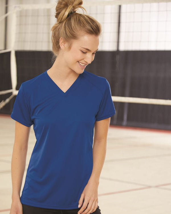 Women's B-Core V-Neck T-Shirt-Badger-Pacific Brandwear