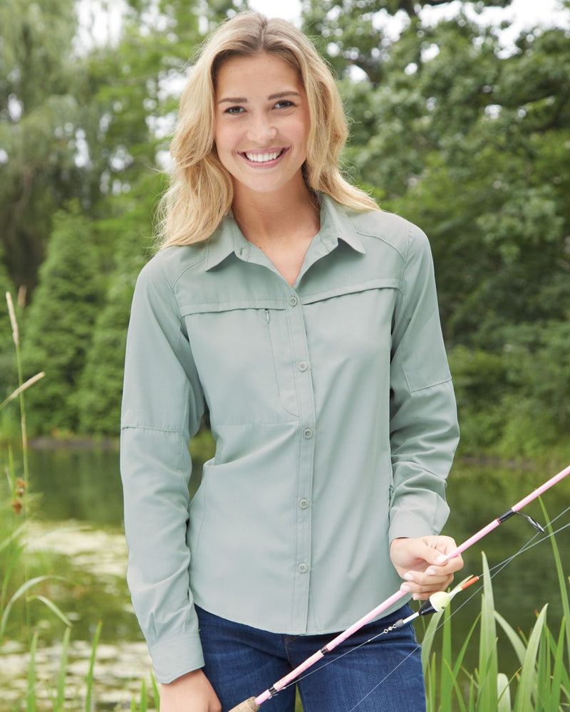 Women's Fishing Shirt-DRI DUCK-Pacific Brandwear