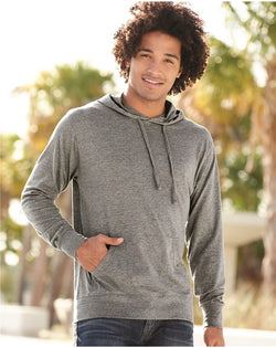 Lightweight Hooded Pullover T-Shirt-Independent Trading Co.-Pacific Brandwear
