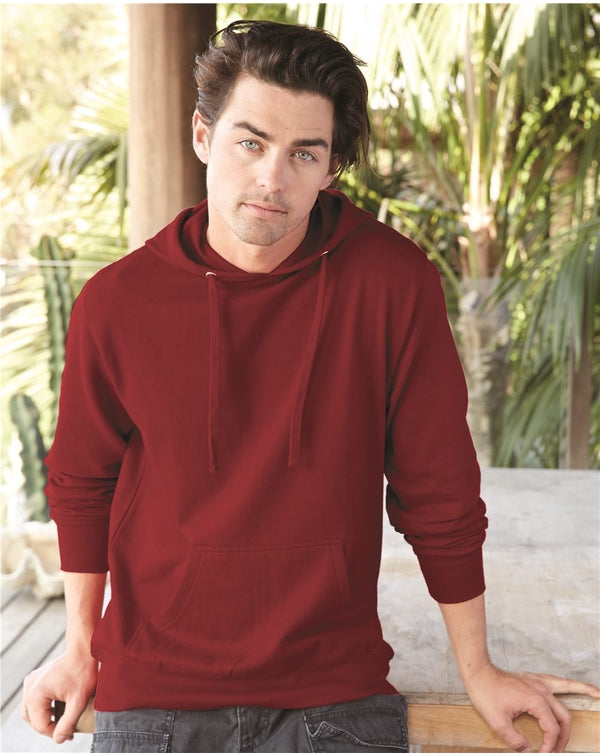 Lightweight Hooded Pullover SweatShirt-Independent Trading Co.-Pacific Brandwear