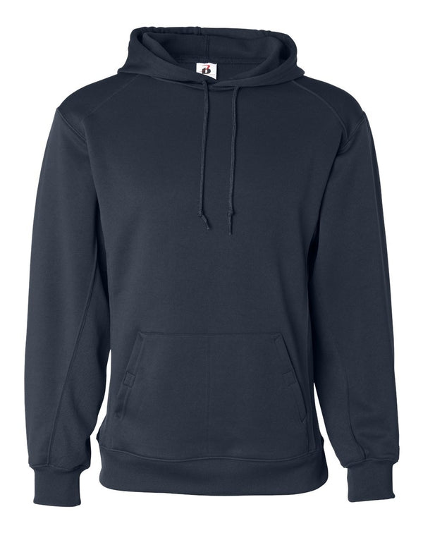 Performance Fleece Hooded SweatShirt-Badger-Pacific Brandwear
