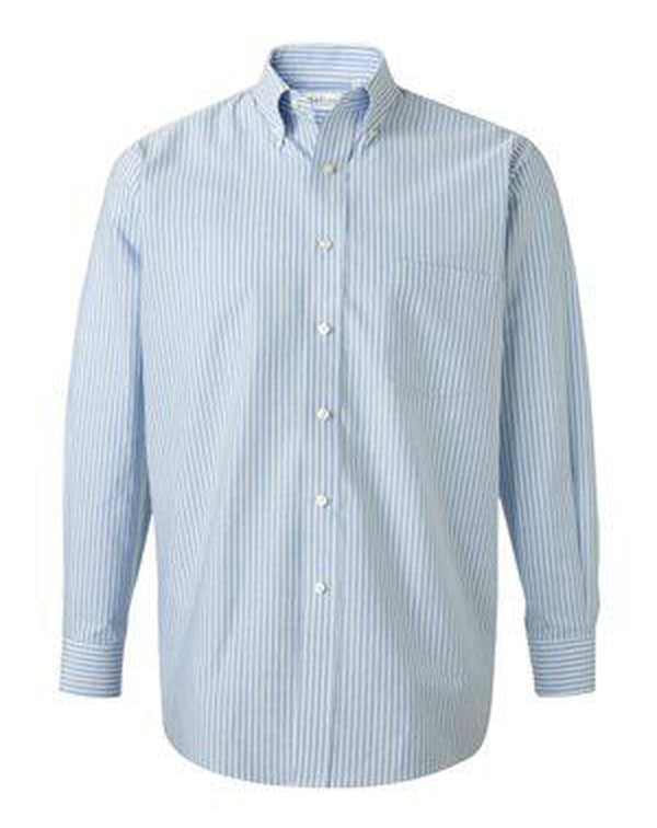 Long Sleeve Oxford Shirt-Van Heusen-Pacific Brandwear