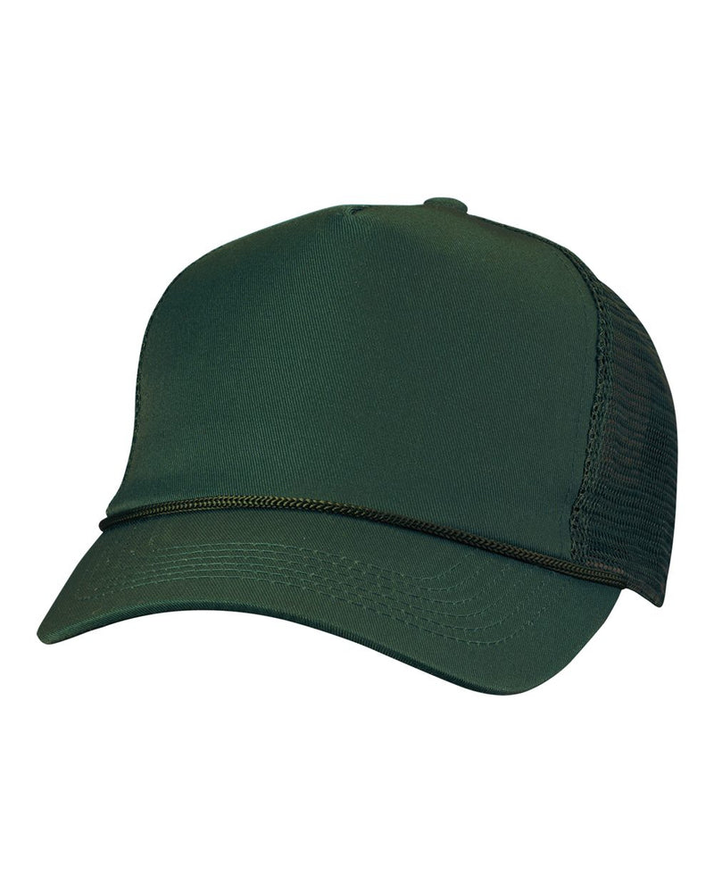 Five-Panel Mesh-Back Trucker Cap-Valucap-Pacific Brandwear