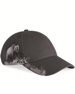 Grizzly Bear Cap-DRI DUCK-Pacific Brandwear
