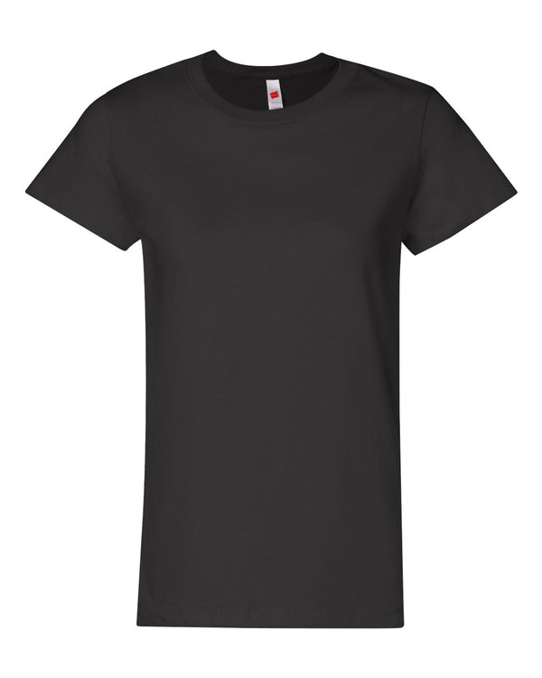 ComfortSoft Tagless Women's Short sleeve T-Shirt-Hanes-Pacific Brandwear
