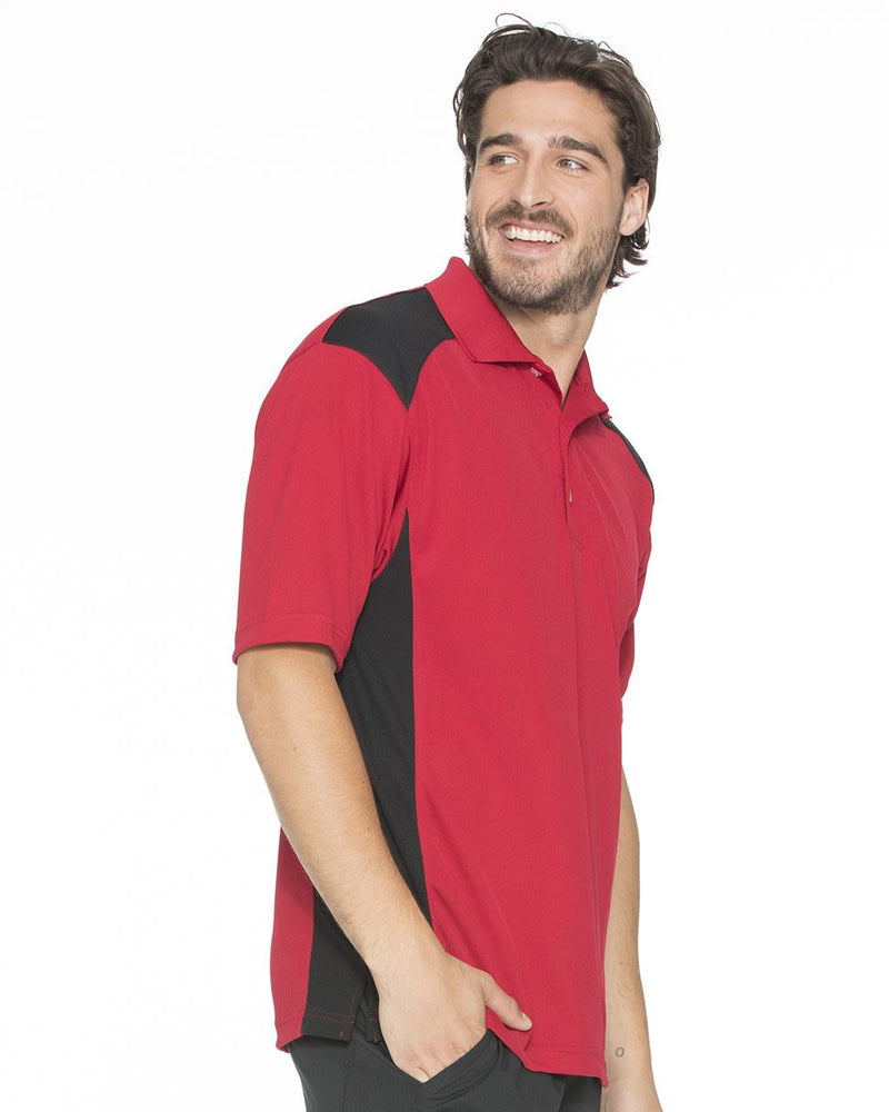 Spirit Racing Colorblocked Moisture-Free Mesh Sport Shirt-FeatherLite-Pacific Brandwear