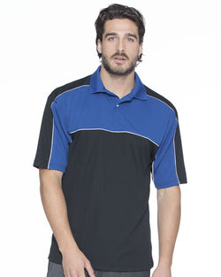 Daytona Racing Colorblocked Moisture-Free Mesh Sport Shirt-FeatherLite-Pacific Brandwear